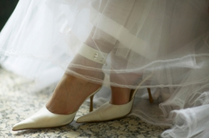 Choose the right shoes for your wedding