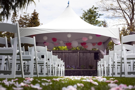 Planning A Small Backyard Wedding Great Bridal Expo - Cheap backyard wedding ideas